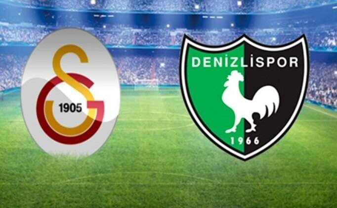 Şifresiz Galatasaray Denizlispor maçı izle, GS Denizli canlı yayın