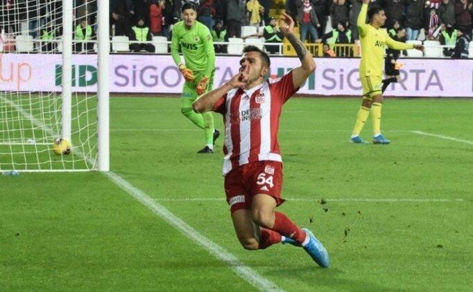 Lider Sivasspor'un gol yükünü orta sahalar omuzladı!