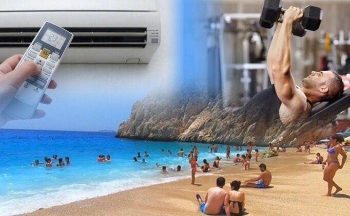 Plaj, deniz, havuz, spor salonu, klima! Hangisi ne kadar riskli?