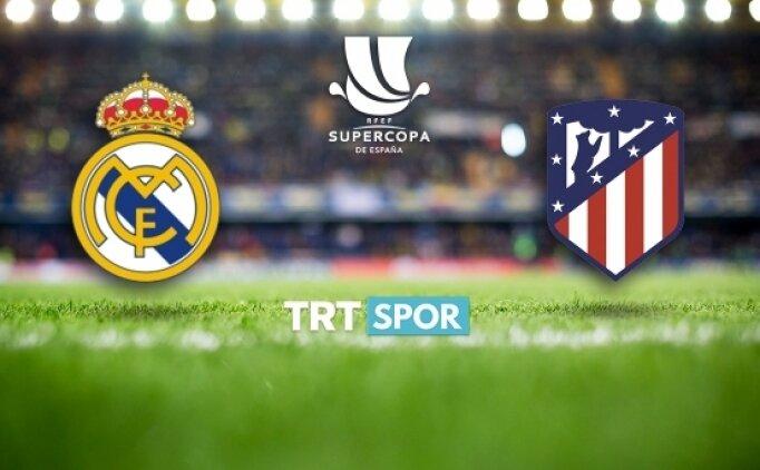 Real Madrid - Atletico Madrid derbisi şifresiz kanalda