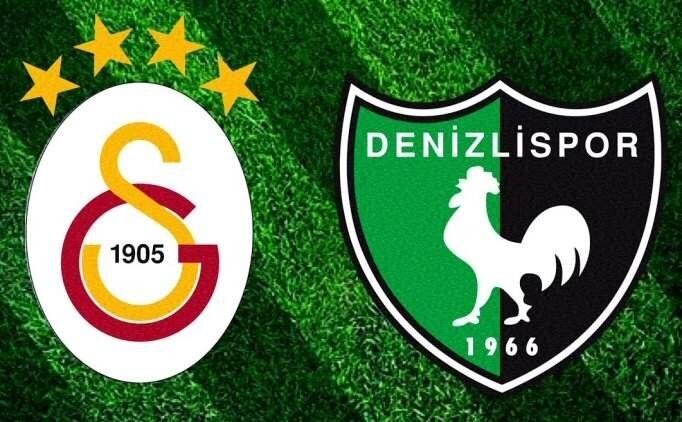 GS Denizlispor maçı canlı şifresiz izle, Galatasaray canlı yayın