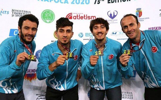Türkiye Balkan Atletizm Şampiyonası'nda 21 altın aldı