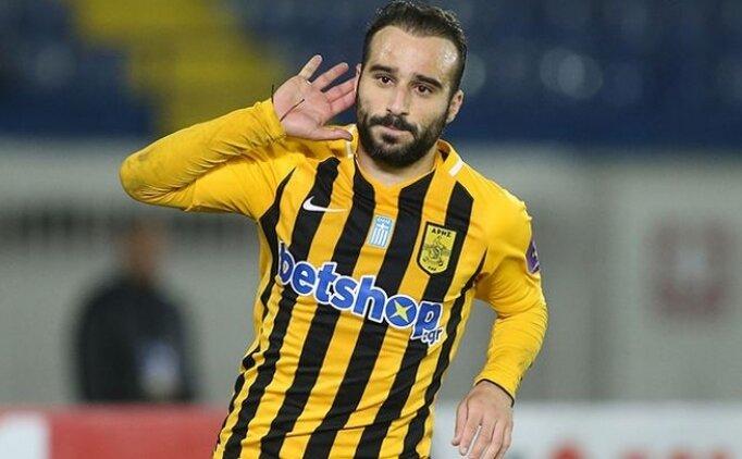 Trabzonspor'a Yunan kanat; Giannis Fetfatzidis