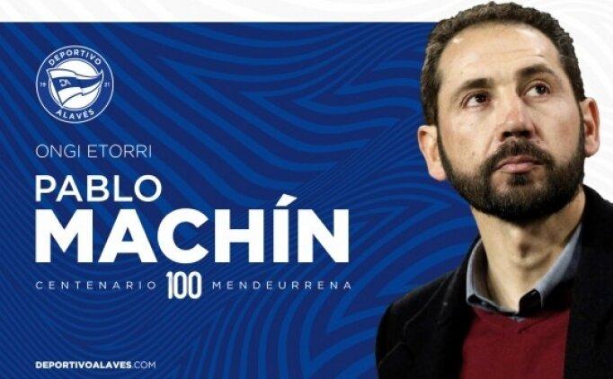 Alaves, teknik direktörlüğe Pablo Machin'i getirdi