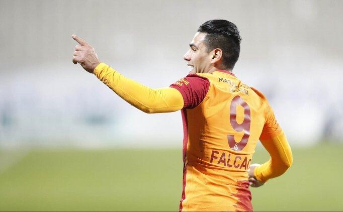 Süper Lig'de gol krallığı oranları: Falcao favori