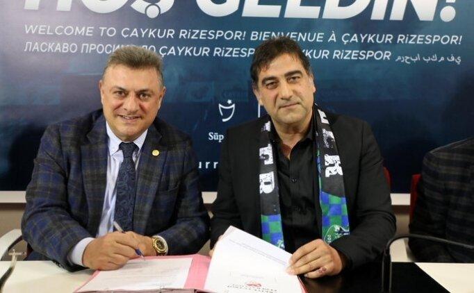 Rizespor, Ünal Karaman ile 1.5 yıllık imzaladı