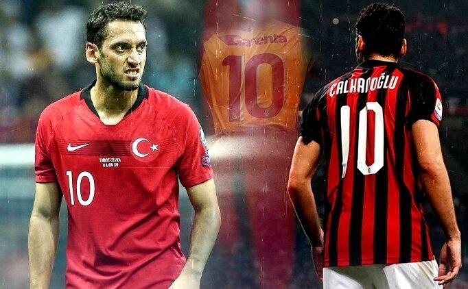 Hakan Çalhanoğlu: 'Gelecekte Galatasaray'ı isterim'