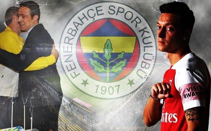 Ali Koç'tan Mesut Özil cevabı: 'Acun'a sorun'