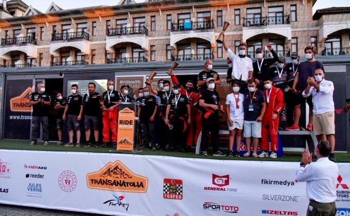 TransAnatolia Rally Raid Şile'de son buldu
