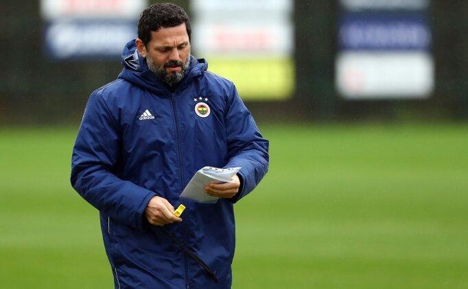 Fenerbahçe'de Erol Bulut'un fikstür sıkıntısı