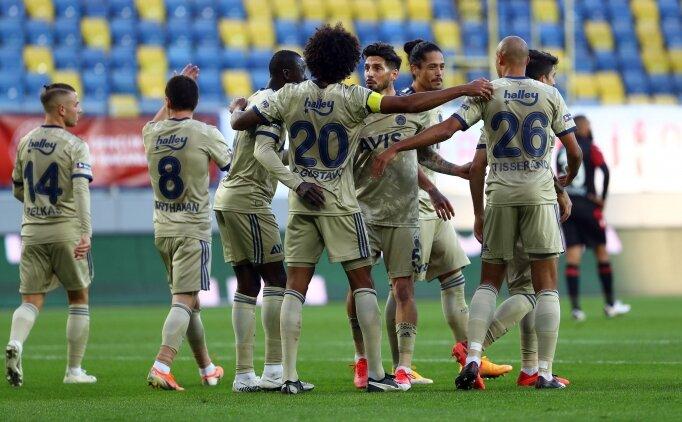 Deplasmanın kralı Fenerbahçe