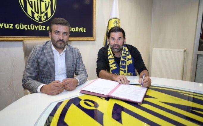 Ankaragücü, İbrahim Üzülmez'le 10 yıllık hasreti bitirmek istiyor