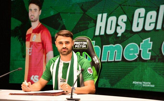 Ahmet Çalık Konyaspor ile imzaladı