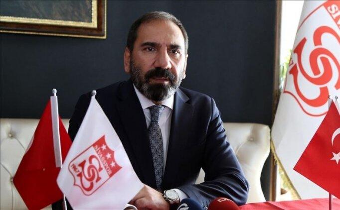 Sivasspor Kulübü Başkanı Mecnun Otyakmaz'dan 'evde kal' çağrısı