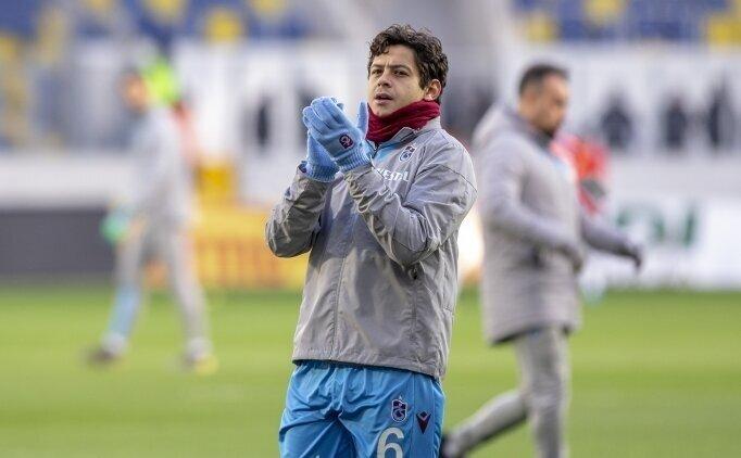 Trabzonspor'da Guilherme'den mesaj var