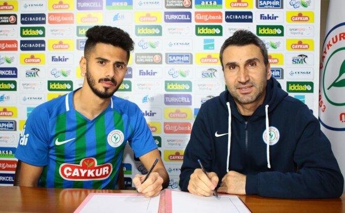 Çaykur Rizespor, Alberk Koç ile sözleşme imzaladı