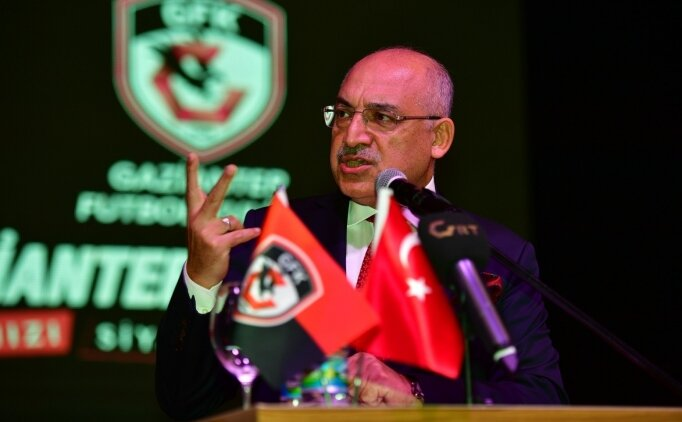 G.Antep Başkanı Mehmet Büyekşi: 'Süper Lig iptal edilmez'