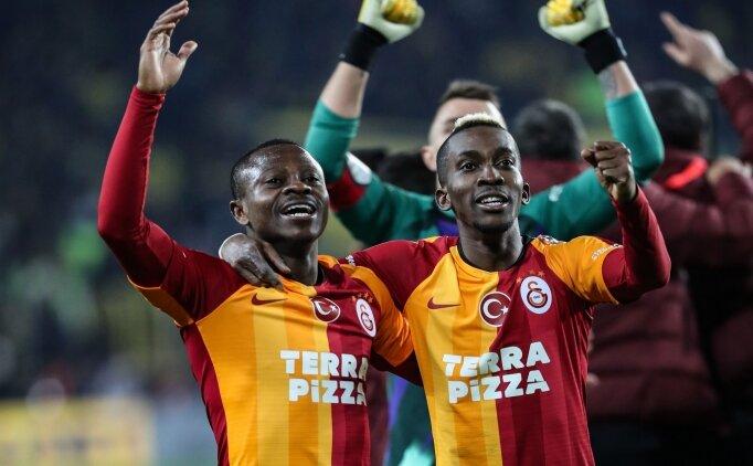 Galatasaray'da derbi zaferinin kilit adamı; Seri