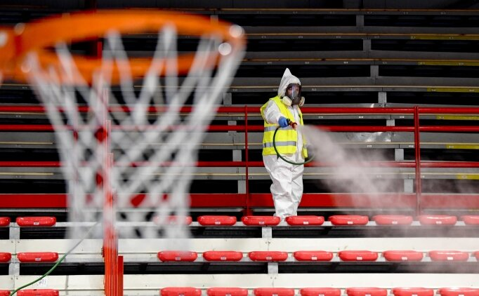Akhisar Belediyespor Erkek Basketbol Takımı'nda iki pozitif