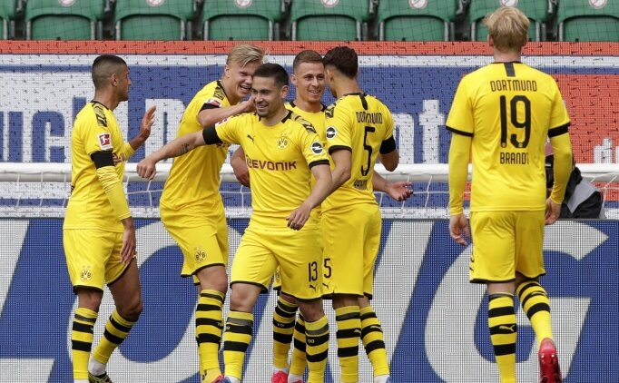 Haaland sustu, Dortmund'da kanatlar konuştu