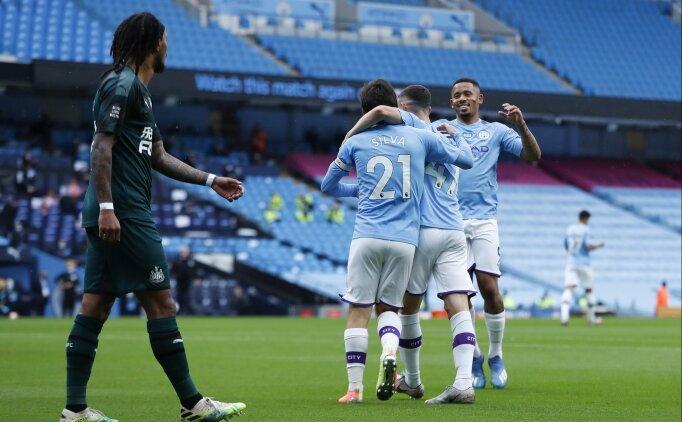 Manchester City, Newcastle'ı yerle bir etti: 5-0!