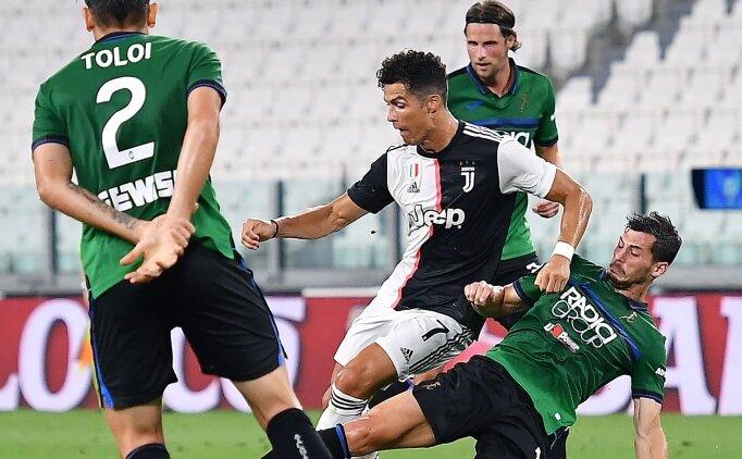 Juventus 1 puanı 90'da penaltıyla kurtardı