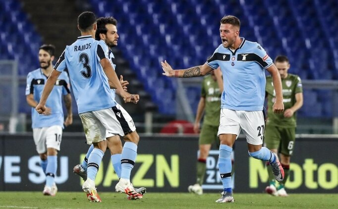 Immobile hat-trick yaptı, Lazio deplasmanda coştu!