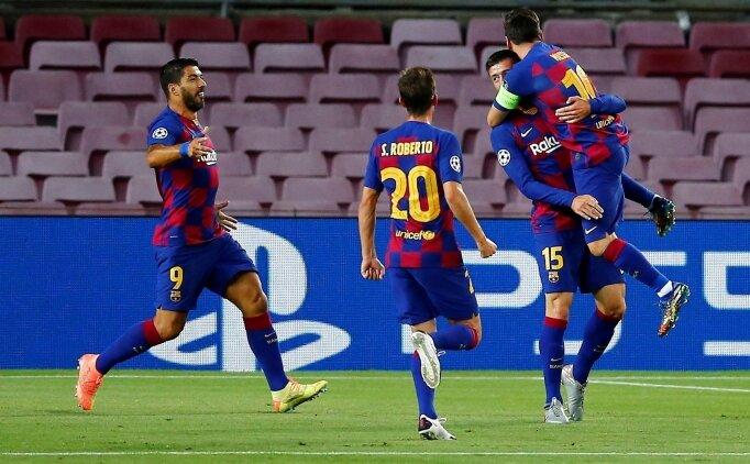 Barcelona, Leo Messi ile turu kaptı!