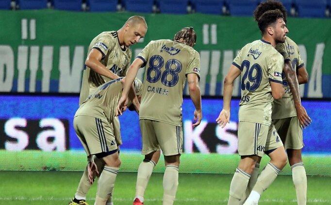 Fenerbahçe - Hatayspor: İlk 11'ler