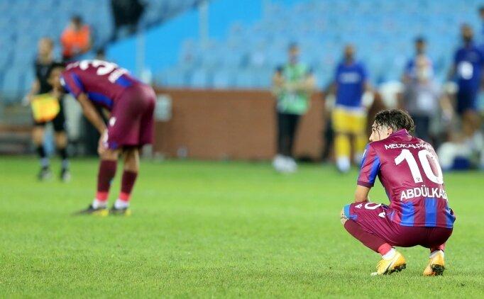 Trabzonspor, 'sakat'a geldi