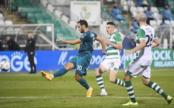 Hakan Çalhanoğlu sezonun ilk maçının en iyisi