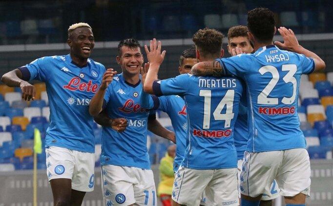 Napoli, sahasında şov yaptı şov! 6 gollü zafer...