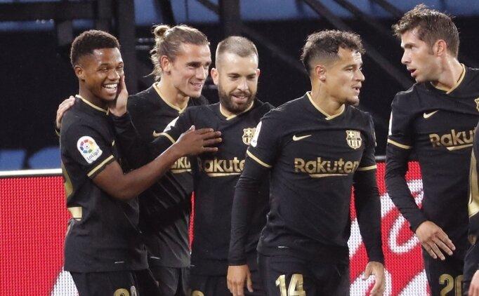 Barcelona Emre Mor ve Okay Yokuşlu'nun takımını üzdü