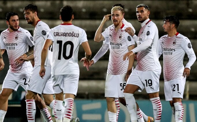 Penaltılara giden maç Milan'ın oldu