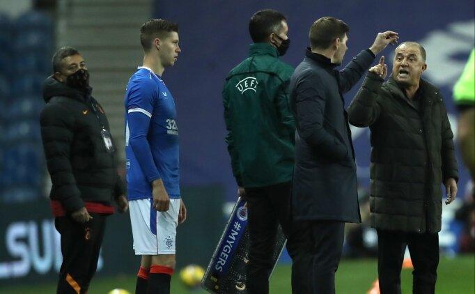 Yedek kulübesinde tartışma: Gerrard VS Terim!