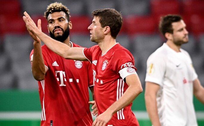 Bayern Choupo-Moting ile tur atladı