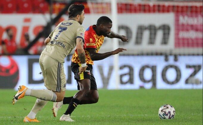 Göztepe - Fenerbahçe maçının ilk yarısına penaltılar damga vurdu