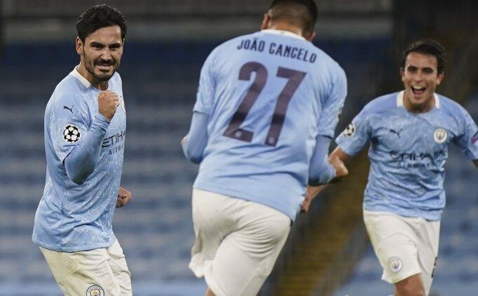 Manchester City, Devler Ligi'ne galibiyetle başladı