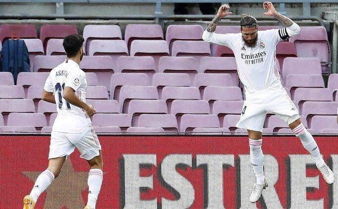 Sergio Ramos, Messi'yi tuş etti: Kazanan Real Madrid!