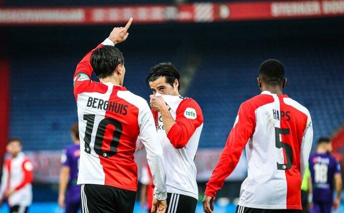 Orkun Kökçü kızardı, Feyenoord geriden gelerek kazandı