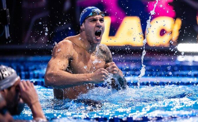 Yüzmede iki dünya rekoru kırıldı!