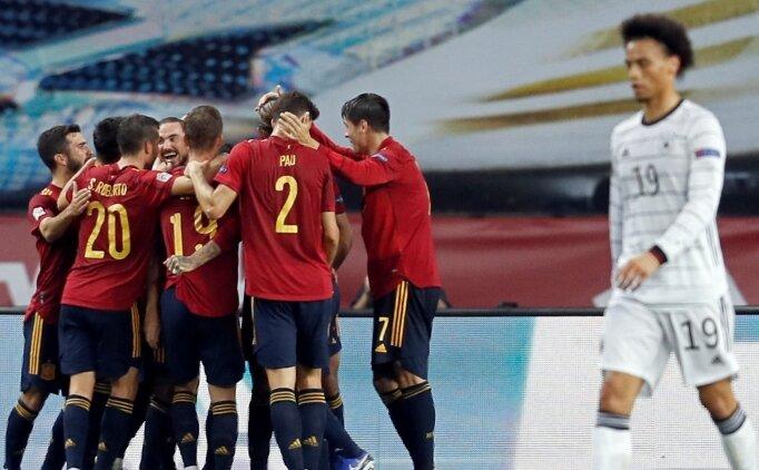 İspanya, Almanya'yı tarihi skorla yendi: 6-0