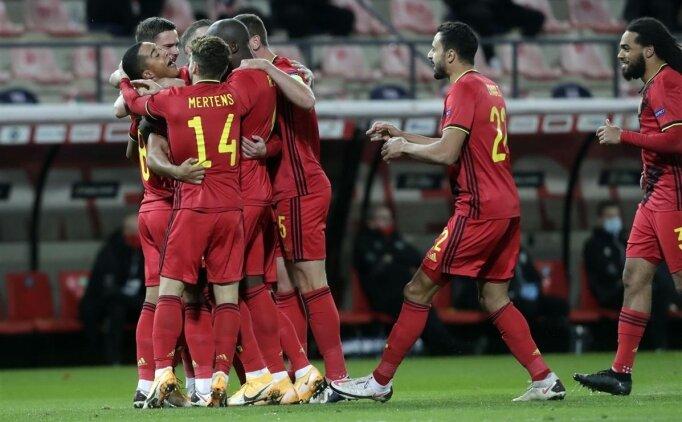 Belçika 4 golle lider bitirdi