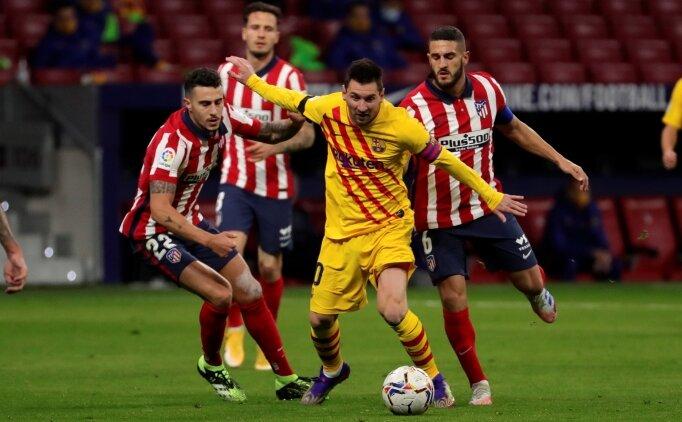 Atletico evinde Barcelona'dan 3 puanı söküp aldı