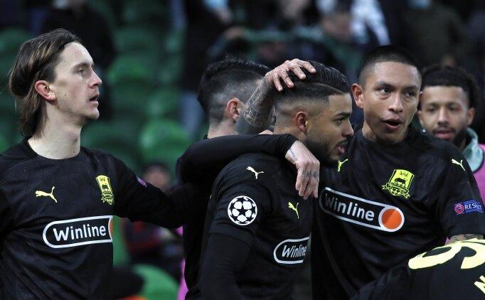 Krasnodar, Avrupa Ligi için avantajı kaptı