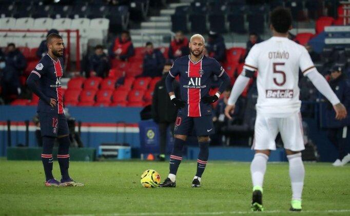 PSG Bordeaux engelini geçemedi