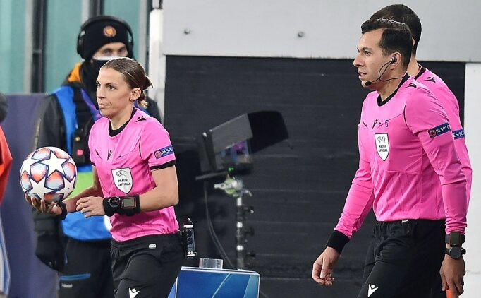 Şampiyonlar Ligi'nde ilk kez kadın hakem görev yaptı