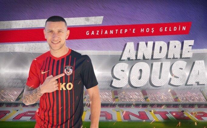 Gaziantep FK'den Portekizli orta saha transferi
