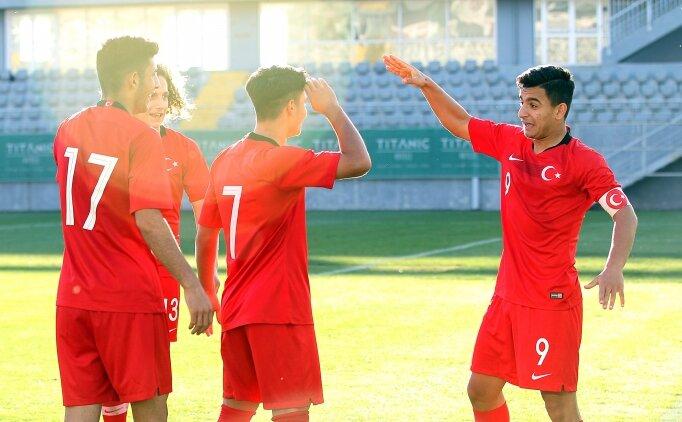 UEFA 16 Yaş Altı Gelişim Turnuvası'nda Türkiye, Paraguay'ı 1-0 yendi