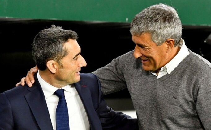 Barcelona'nın yeni teknik direktörü Quique Setien